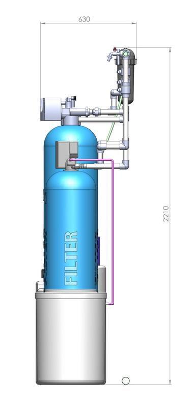 Комплексная водоподготовкаОчистка воды для загородного домаВодоочистка для коттеджа